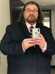 Alan Z. verified customer review of NAVY BLUE THREE PIECE TR SUIT