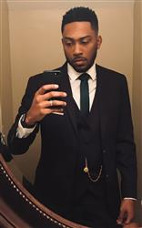 Carlos E. verified customer review of CHARCOAL GREY THREE PIECE TR SUIT