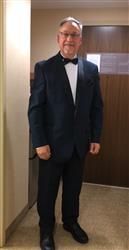 David W. verified customer review of NAVY BLUE TUXEDO WITH SHAWL LAPEL