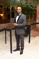 Robin J. verified customer review of CHARCOAL GREY TUXEDO WITH SHAWL LAPEL