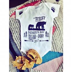 Heather Miles  verified customer review of « FATHER'S DAY WITH BEARS » CUSTOMIZED BODYSUIT