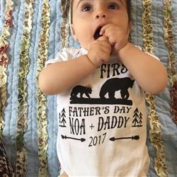 emily abate verified customer review of « FATHER'S DAY WITH BEARS » CUSTOMIZED BODYSUIT