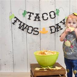 kellie Holtschlag verified customer review of « TACO TWO-SDAY SECOND BIRTHDAY » KID'S TEE