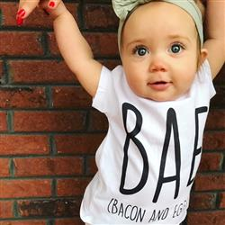 Hanna Doll verified customer review of « BAE BACON AND EGGS » BODYSUIT
