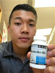 Ryan D. verified customer review of Forskolin-95+