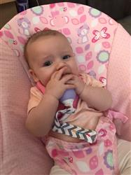 Danielle B. verified customer review of The Teething Egg® - Lavender