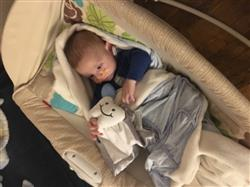 Katielynn M. verified customer review of Nummie Lovey Security Blanket With Attachment