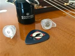 Dan M. verified customer review of Eargasm High Fidelity Earplugs: Transparent Edition