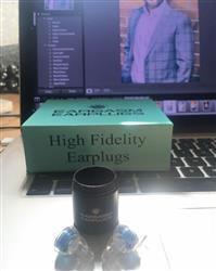 Darran C. verified customer review of Eargasm High Fidelity Earplugs