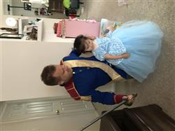 Dina verified customer review of Girls Fancy Cinderella Inspired Ball Gown Dress Halloween Costume