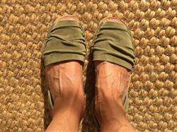Anonymous verified customer review of Laia - Ruffled Suede Menorcan sandals