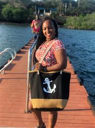 Diana M. verified customer review of Nautical Summer Tote Bag