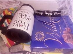Yvonne C. verified customer review of Happy Birthday Ribbon (Black)