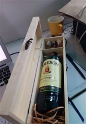 Caroline O. verified customer review of Keep Calm You've Passed Wooden Wine/Whiskey Box