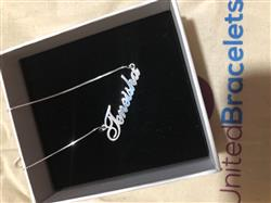 Nioka W. verified customer review of Classic Name Necklace