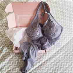 Jess verified customer review of Floral Applique Babydoll - Grey