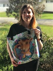 Patti H. verified customer review of Friends Not Food Tote Bag
