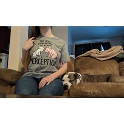 Amy W. verified customer review of Perception Unisex Short Sleeve T-shirt