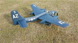 Peter T. verified customer review of FlightLine RC F7F-3 Tigercat 1600mm (63) Wingspan - PNP