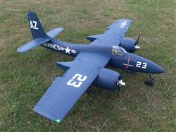 Ian P. verified customer review of FlightLine RC F7F-3 Tigercat 1600mm (63) Wingspan - PNP