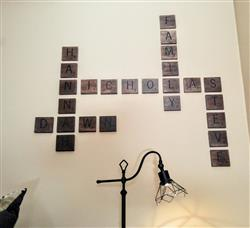 Anonymous verified customer review of Scrabble Letter Style Stencils