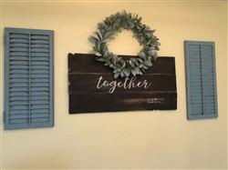 Pennie J. verified customer review of It's So Good To Be Home + Together Is My Favorite Place To Be Stencil Set
