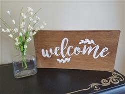 Essential Stencil Customer verified customer review of Gather, Welcome, Farmhouse Stencil Set