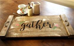 Martyn Parsons  verified customer review of Gather, Welcome, Farmhouse Stencil Set