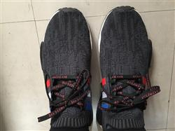 Dante L. verified customer review of Black and Red Katakana Laces