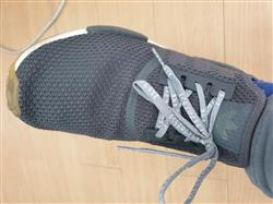 Miguel C. verified customer review of Gray Japanese Katakana Laces