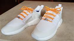 Anonymous verified customer review of Orange Reflective Rope Laces 2.0