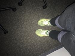 Anonymous verified customer review of Neon Green Reflective Rope Laces 2.0