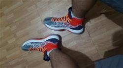 Anonymous verified customer review of Orange 3M Reflective Flat Laces
