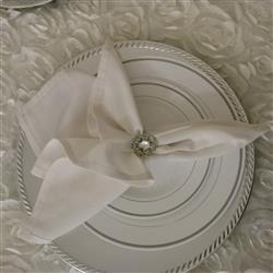 Stacey S. verified customer review of CRYSTAL NAPKIN RING 323-S-N