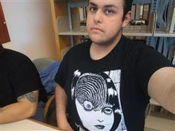 David C. verified customer review of UZUMAKI Eyeball Shirt
