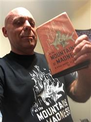 Chris C. verified customer review of AT THE MOUNTAINS OF MADNESS Shirt