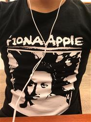Chris S. verified customer review of FIONA APPLE Shirt