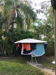 Graham M. verified customer review of Rotary Clothesline Cover