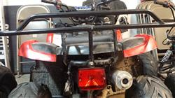 Albert T. verified customer review of Chinese ATV Tail Light - Version 62 - for 110cc-250cc