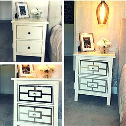 Rebecca H. verified customer review of Styl-Panel Kit: #1127 to suit IKEA Hemnes 2-drawer bedside table
