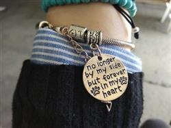 Jammey Jackson verified customer review of No Longer By My Side But Forever In My Heart Charm Bracelet AND MORE - See Description