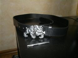 Rae A. verified customer review of Angry Bulldog Buckle Belts for Men and Women