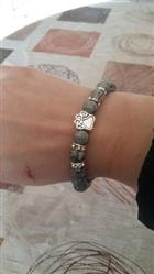 Nickole N. verified customer review of Assorted Mala Bead Bracelets with Paw Print Charm for Men and Women