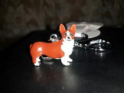 Ramona M. verified customer review of 3D Dog Keychains Hand-Painted And Beautiful Metal Car Key Chains