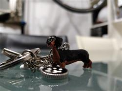 P. Sparks verified customer review of 3D Dog Keychains Hand-Painted And Beautiful Metal Car Key Chains