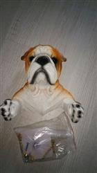 R. Willis verified customer review of 3D Bulldog Toilet Paper Holder