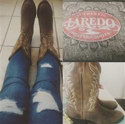 Kayla T. verified customer review of Laredo Womens Tan Distressed Leather Kadi 11in R Toe Western Cowboy Boots