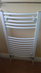 Joseph L. verified customer review of Bathroom Towel Radiator White - H 730 x W 600mm