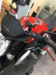 Myungsung K. verified customer review of MV Agusta Dragster / RR Folding Levers Long Set
