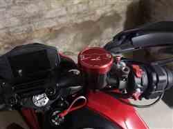 Alan G. verified customer review of Ducati Panigale / Monster 1200 Brake Fluid Reservoir Cap